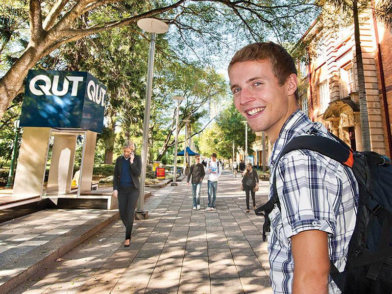 昆士蘭科技大學校園景