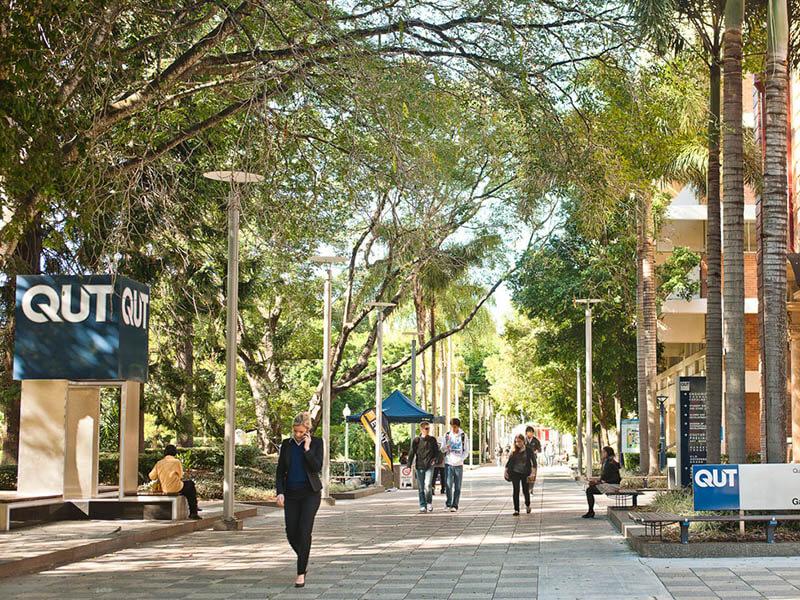 昆士蘭科技大學校園一景