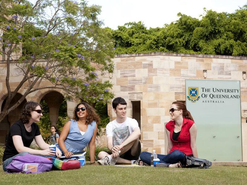 昆士蘭大學擁有廣泛的校園,讓學生開心學習
